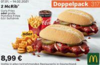 2 McRib 317 von McDonald's