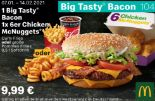 1 Big Tasty Bacon 1 x 6er Chicken McNuggets 104 von McDonald's