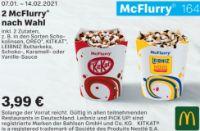 2 McFlurry Nach Wahl 164 von McDonald's