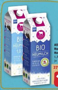 Allgäuer Bio Heumilch von Hof-Milch