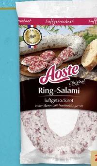Französische Ringsalami von Aoste
