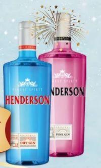 Dry Gin von Henderson