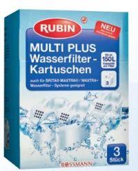 Wasserfilter Kartuschen Multi Plus von Rubin