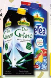 Teegetränk von Pfanner