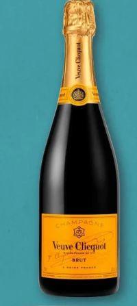 Champagner von Veuve Clicquot