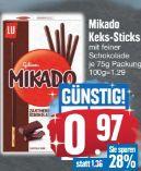 Keks-Sticks von Mikado
