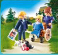 Clara mit Vater und Fräulein Rottenmeier 70258 von Playmobil