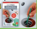 Abflussreiniger-Sticks von easy! MAXX