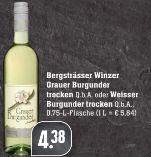 Grauer Burgunder von Bergsträßer Winzer