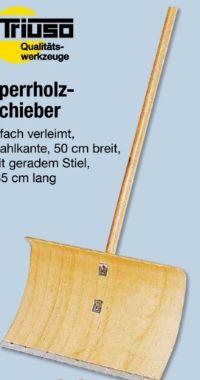 Sperrholz-Schieber von Triuso