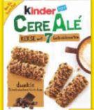 Kinder Cerealien von Ferrero