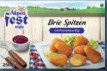 Back-Brie-Spitzen von Alpenfest