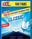 Geschirr-Reiniger-Tabs XXL von W5