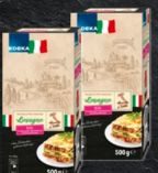 Pasta-Spezialitäten von Edeka Italia