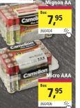 Batterien von Camelion