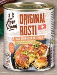 Original Rösti von Alpenschmaus