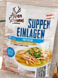 Suppeneinlagen von Alpenschmaus