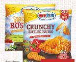 Crunchy Riffled Frites von Agrarfrost