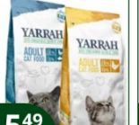 Bio-Katzenfutter von Yarrah