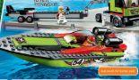 City Rennboot Transporter 60254 von Lego