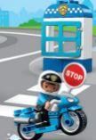 Duplo Polizeimotorrad 10900 von Lego
