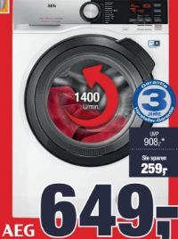Waschvollautomat L7FS 74489 von AEG