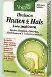 Hyaluron Husten & Hals Lutschtabletten von Alsiroyal
