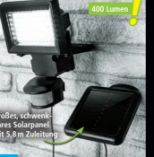 LED-Solar-Sicherheitsleuchte von Duracell