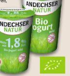 Bio-Joghurt von Andechser Natur