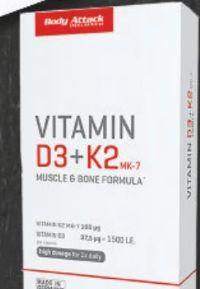 Vitamin D3+K2 von Body Attack