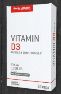 Vitamin D3 von Body Attack