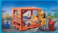Cargo Container Manufacturer 70774 von Playmobil