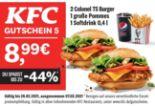 2 Colonel TS Burger 1 große Pommes 1 Softdrink 0,4 l von KFC