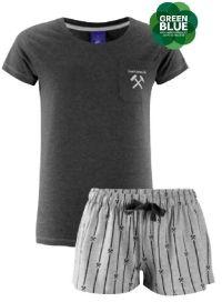 Damen Schlafanzug Kumper & Malocher von FC Schalke 04
