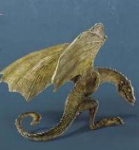 Drachen-Baby Skulptur Rhaegal Game of Thrones von Elbenwald