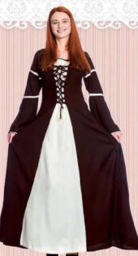 Damen Mittelalter Kleid Katherina von Elbenwald
