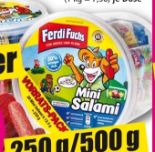 20 Mini-Salami von Ferdi Fuchs