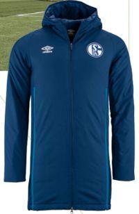 Stadionjacke Team Navy von FC Schalke 04
