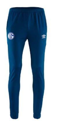 Herren Hose Poly Team Navy von FC Schalke 04