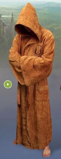 Herren Bademantel Star Wars Jedi Deluxe von Elbenwald