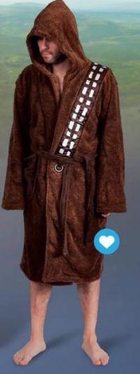 Herren Bademantel Star Wars Chewbacca von Elbenwald