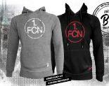 1. FCN Herren-Hoodie Logo von umbro