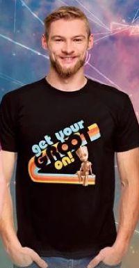Herren T-Shirt Guardians of the Galaxy Get Your Groot von Elbenwald