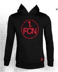 Kinder-Hoodie Logo von 1. FCN