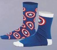 Socken 2er Set  Captain America  Shield Logo von Elbenwald