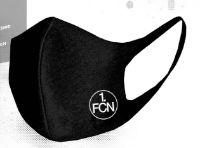 1. FCN Mund-Nasen-Maske Logo Schwarz von umbro