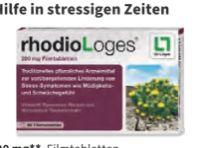Rhodiolan Filmtabletten von Dr. Loges