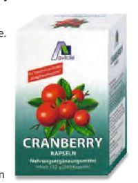 Cranberry Kapseln von Avitale Pharma