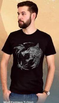 Herren T-Shirt Wolf Emblem von Elbenwald
