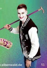 Gehstock Joker Suicide Squad von Elbenwald